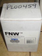 "FNW FLOW CONTROL TRUE UNION BALL VALVE 3/4"" PVC VALVE SOC/THD PART#FNW3400EF"
