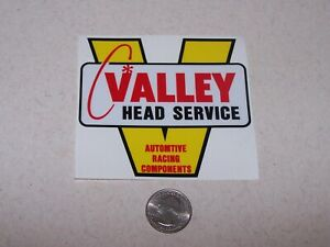 Valley Head Service / Automotive Racing Components - decal/sticker