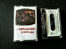 NIRVANA UNPLUGGED NEW YORK CASSETTE TAPE RARE PHILIPPINES LIKE NEW