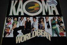 "KAOMA ""Worldbeat"" LP VINYL / CBS RECORDS - 466012-1 / 1989"