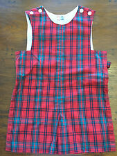 Orient Express boys jumper size 5 red plaid