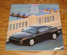 Original 1993 Toyota Celica Deluxe Sales Brochure 93