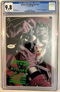 Batman - The Killing Joke    1st Print   CGC 9.8 NM-Mint   White Pages   AWESOME