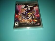 Disgaea 4 A Promise Unforgotten (PlayStation 3 PS3, 2011) New + BONUS PROTECTOR!