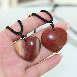 Pendulum Quartz Stone Pendant Chakra Healing Natural Crystal Gemstone Necklace