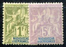 MADAGASCAR 1896 Yvert 41,42 * 78€(F0816