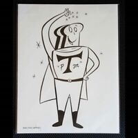 POWDERED TOAST MAN ORIGINAL ART! 8.5x11 SPUMCO & JOHN K! By SHELDON & OWSLEY!