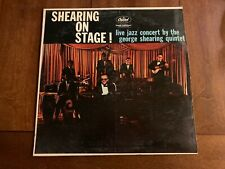 Capitol Records Shearing On Stage! Live Jazz by George Shearing LP T 1187