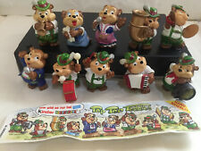 Top Teen Teddies  1995 Komplet mit 1 Bpz. Ferrero