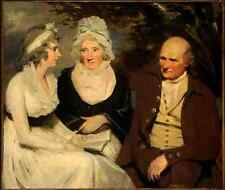 Raeburn Sir Henry John Johnstone Betty Johnstone and Miss Wedderburn A4 Photo Pr