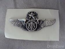 USAF Air Force Chief Enlisted Aircrew Aviation Qualification Wings Badge