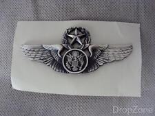 USAF Fuerza Aérea Jefe Alistado Aircrew Aviación Calificación Alas Insignia
