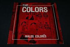 THE COLORS ~ Malos Colores ~ N MINT ORIG 1987 US Poe LP + lyric insert PUNK OOP