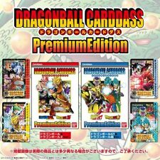 Bandai Dragon Ball Card Premium Edition Z+GT+Super Full Set of 12 Cards F/S