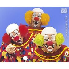 Deluxe Clown Baldhead Wig for Circus Fancy Dress Accessory