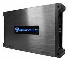 A Rockville DBM25 1400 Watt 2 canal amplificador de barco/Marítimo Amp Com Capas De Silicone