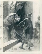 1940 Alexander The Great Consults Delphic Oracle Press Photo