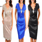 B74 New Womens Formal Chic Wedding Cocktail Evening Party Work Lace Dress Size