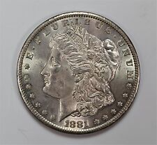 1881 CC $1 Morgan Silver Dollar