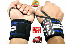 bodybuilding weight lifting gym training gloves wrist support straps wraps