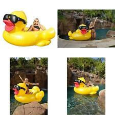Inflatable Giant Duck Floating Pool Sea Adults Kids Summer Game New 2016