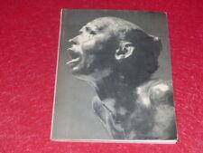 [ART XXe]  RODIN INCONNU CATALOGUE EXPOSITION MUSEE DU LOUVRE Paris EO 1962
