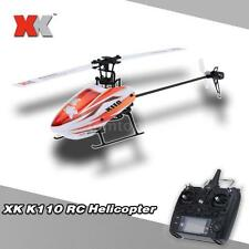 Genuine XK Blast K110 6CH 3D 6G System Brushless Motor RTF RC Helicopter A7H1