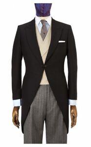 Luxury Morning coat,Size 44R 100% Wool fabric. New & unworn.Wedding/Formal