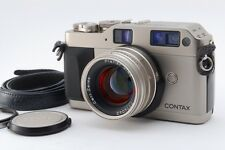 [MINT] Contax G1 35mm Rangefinder w/ Carl Zeiss Planar 45mm From Japan #00110