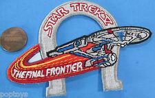 PATCH - Star Trek V The Final Frontier movie - Enterprise & horseshoe '89 vtg
