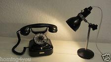 Nähmaschinen Lampe Schreibtischlampe Stehlampe Bauhaus Stativ rar '20er J