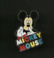 Mickey Mouse Shhhh! Splendid Walt Disney Pin