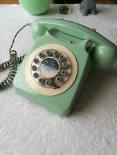 Wild & Wolf 746 Phone Jadeite Green Retro Vtg Style Corded Telephone Landline