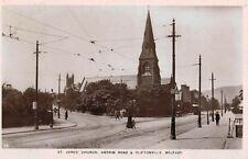 RPPC,Belfast,No.Ireland,St.James' Church,Antrim Road & Cliftonville,c.1909