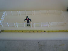 G-scale Interlocking Fencing 20 Sections For Farm Corral Scene or House Fence