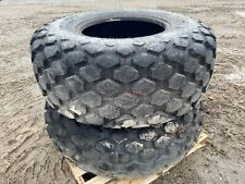 Set Of 2 Galaxy 57075 26 R3 Compactor Wheel Loader Tires 12 Ply 12 Lug Rim