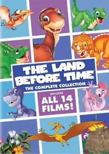 New The Land Before Time: The Complete Collection (DVD) 8 Discs Box Set