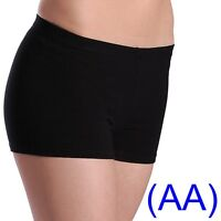 BLACK DANCE SHORTS hot Lycra Dance Gym Leggings leotards ballet salsa yoga (AA)