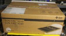 NEW SUN Sunfire V240 SPARC IIIi 1.34GHZ 2x 146GB 512MB DRAM All Accessories