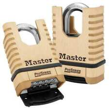 Combination Padlock,Bottom,Brass MASTER LOCK 1177
