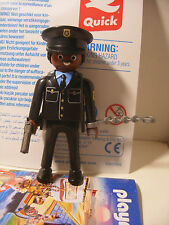 playmobil Metiers POLICIER inedit edition speciale QUICK FRANCE Neuf