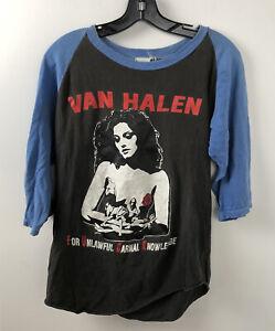 Vintage VAN HALEN Band T Shirt FOR UNLAWFUL CARNAL KNOWLEDGE TOUR RALGAN RARE 91