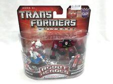 Hasbro Transformers Universe Robot Heroes Gen. 1 Arcee & Decepticon Rumble
