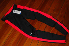 NEW Under Armour ColdGear Black & Coral Training Pant Tights (Small)