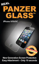New Genuine PanzerGlass 1010 Apple iPhone 5 5S 5C Glass Screen Protector Guard