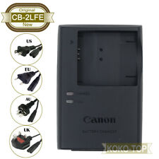 Genuine Canon CB-2LFE Charger for A2400 A3400 SX420 SX430 SX410 IXUS132 NB-11LH