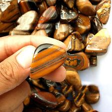 50g Natural Tiger Eye Stone Crushed Rough Rock Gravel Raw Ore Degaussing Decor