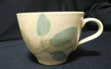 "Red Wing Pottery Merrileaf  Coffee  Cup Mug 3"" tall"