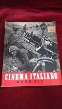 CINEMA ITALIANO – ALMANACCO ANNO XIX 1941