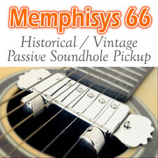 Artec Memphisys 66 P66 - Humbucker Soundhole Pickup For Acoustic Guitar ENN